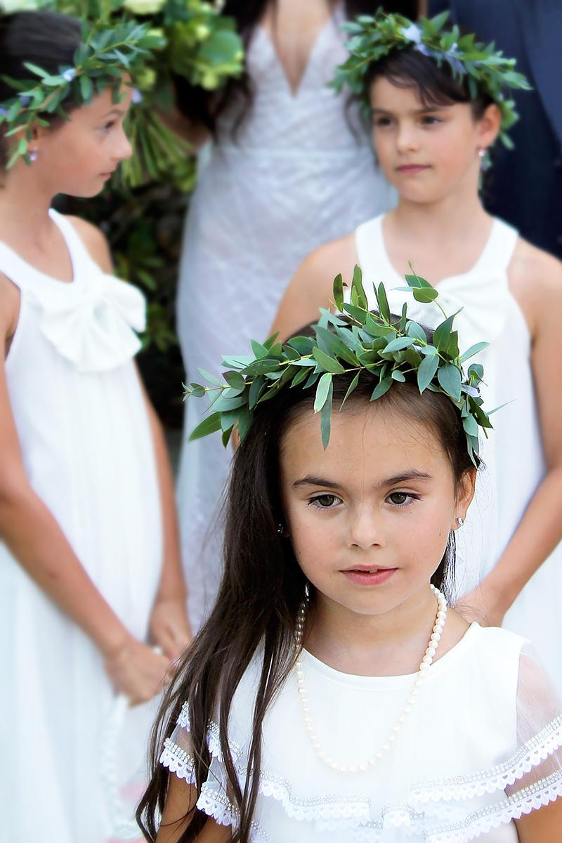 Romantická púdrovo-zlatá greenery svadbička Nelky a Denisa - Obrázok č. 19