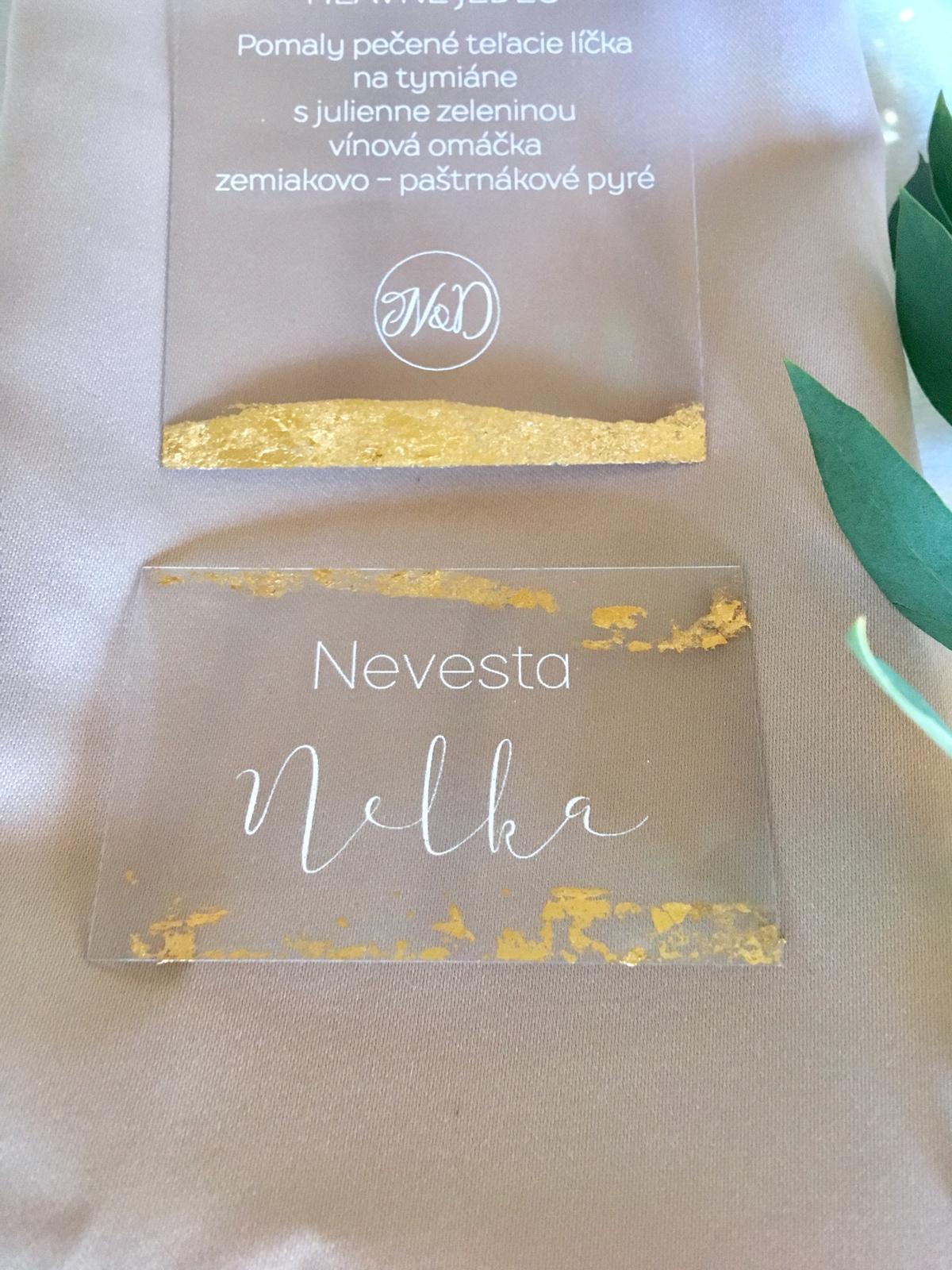 Romantická púdrovo-zlatá greenery svadbička Nelky a Denisa - Obrázok č. 24