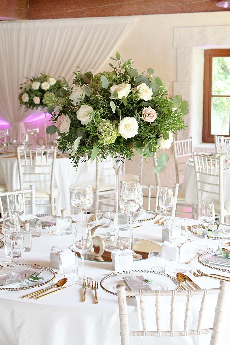 Romantická púdrovo-zlatá greenery svadbička Nelky a Denisa - Obrázok č. 32