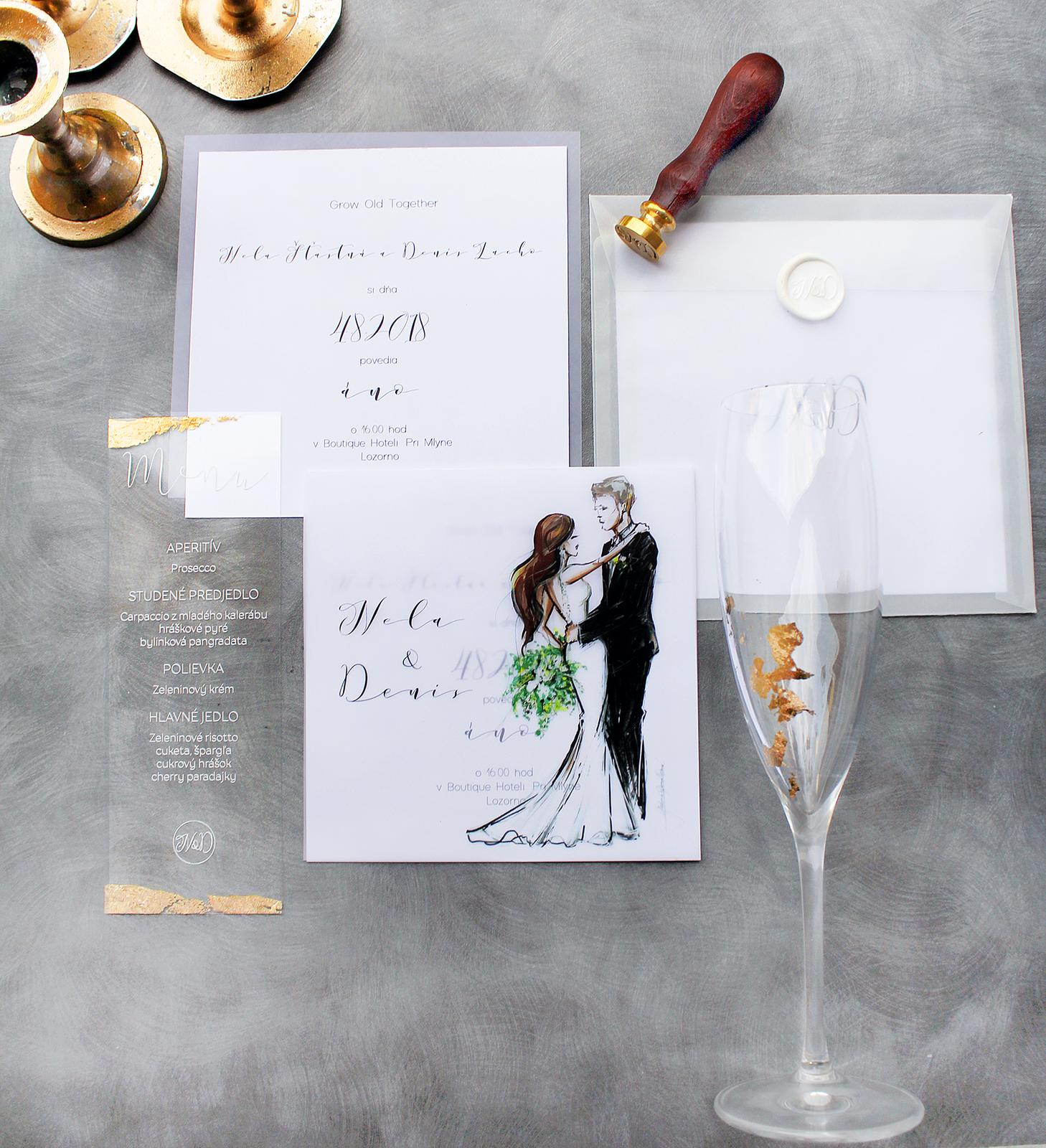 Romantická púdrovo-zlatá greenery svadbička Nelky a Denisa - Obrázok č. 46