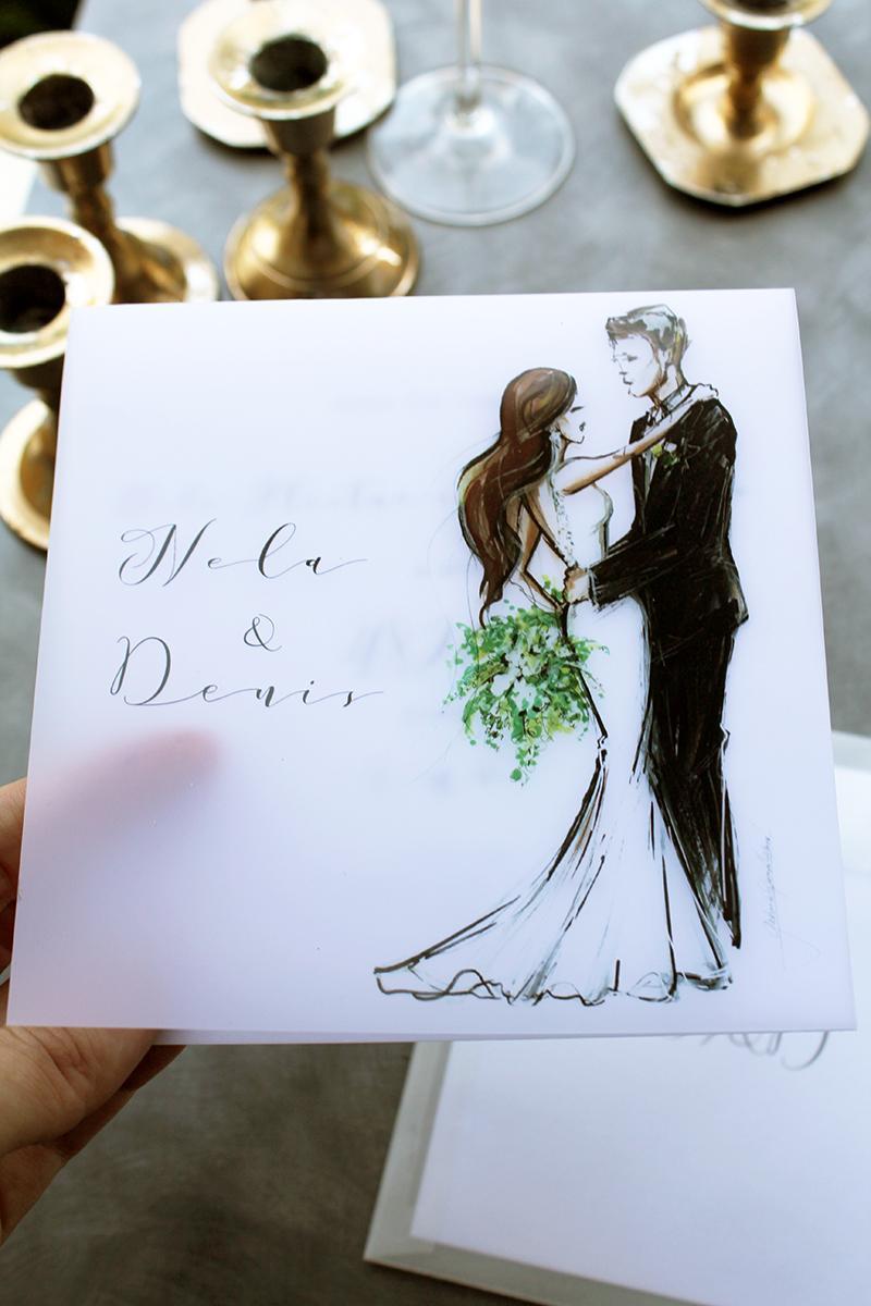 Romantická púdrovo-zlatá greenery svadbička Nelky a Denisa - Obrázok č. 50