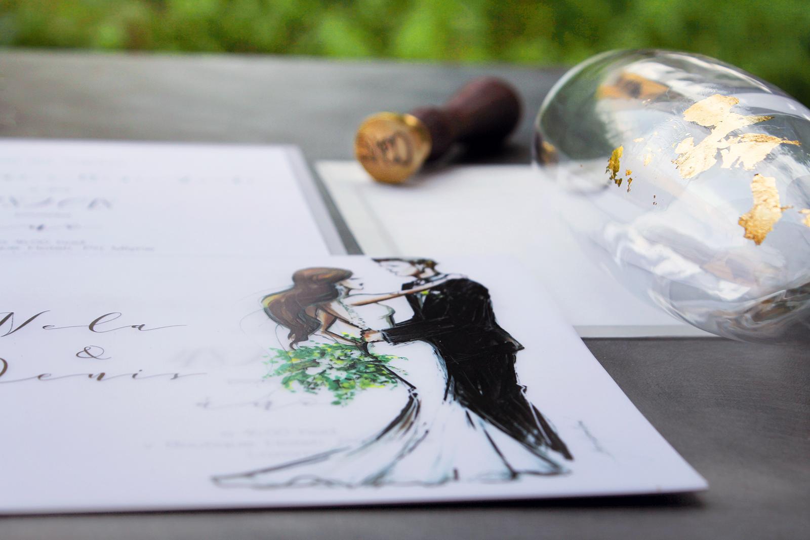 Romantická púdrovo-zlatá greenery svadbička Nelky a Denisa - Obrázok č. 51
