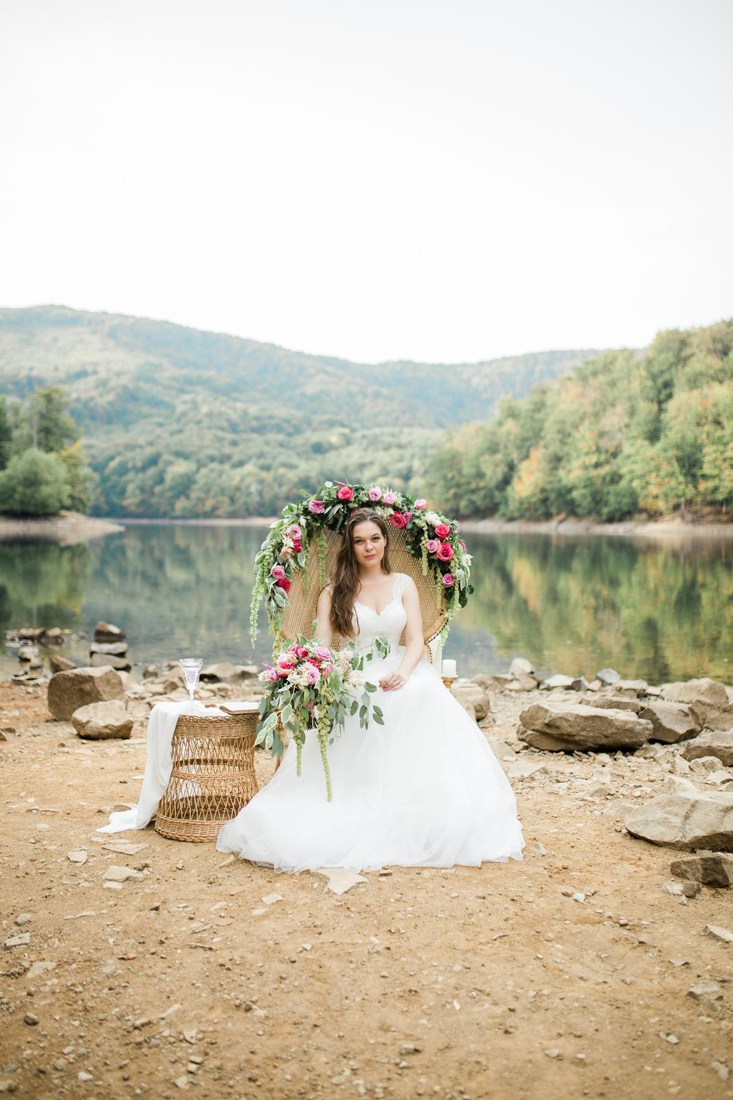 Nádherné svadobné fotenie Lenky a Stana na Morskom oku - Obrázok č. 2