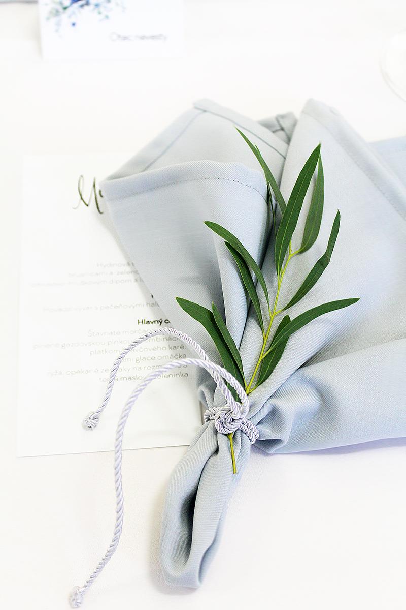 Greenery svadbička v kombinácii s púdrovo modrou Marianky a Martina - Obrázok č. 4