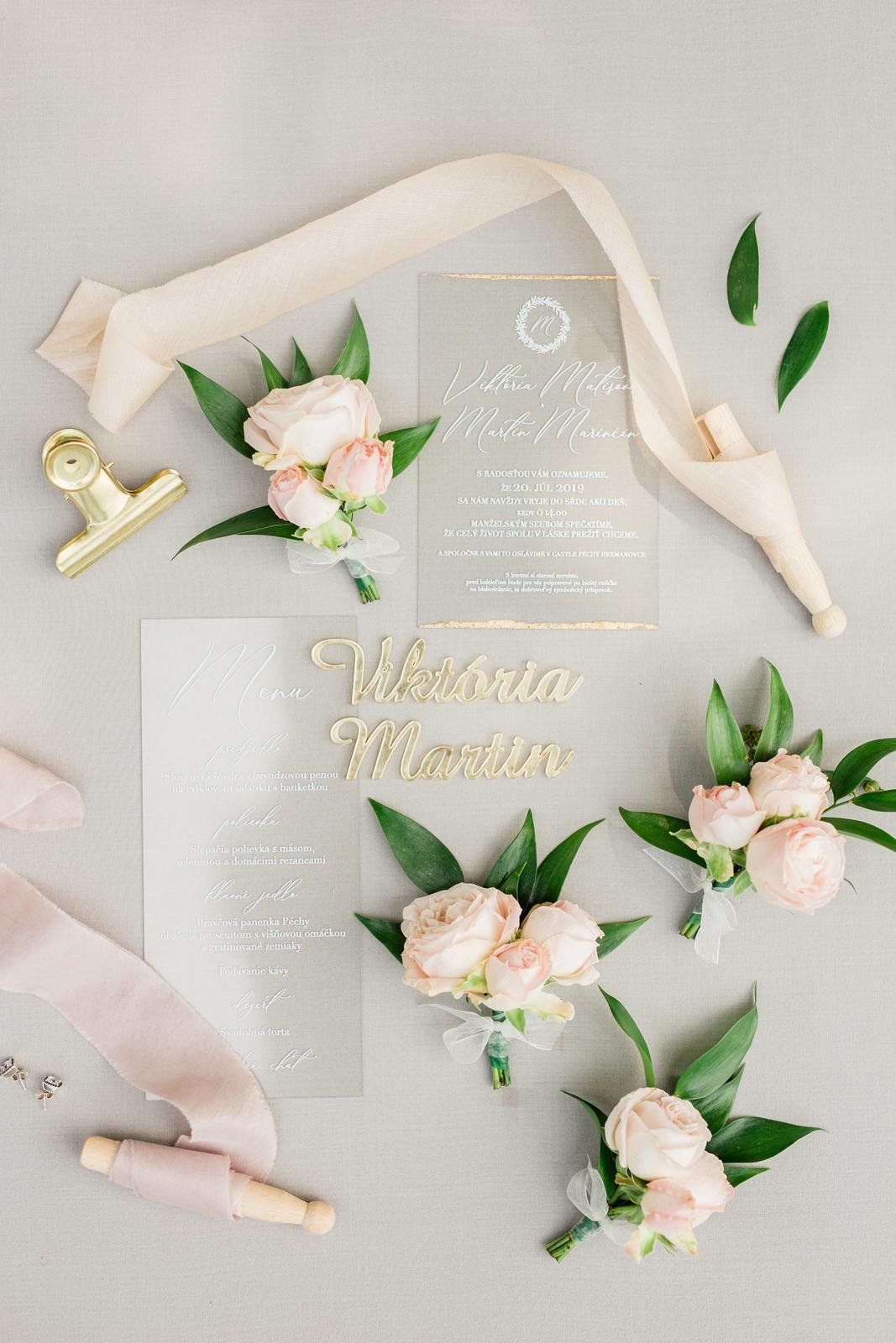 Romantická svadbička krásnej Viky a našej hokejovej jednotky Martina - Obrázok č. 2