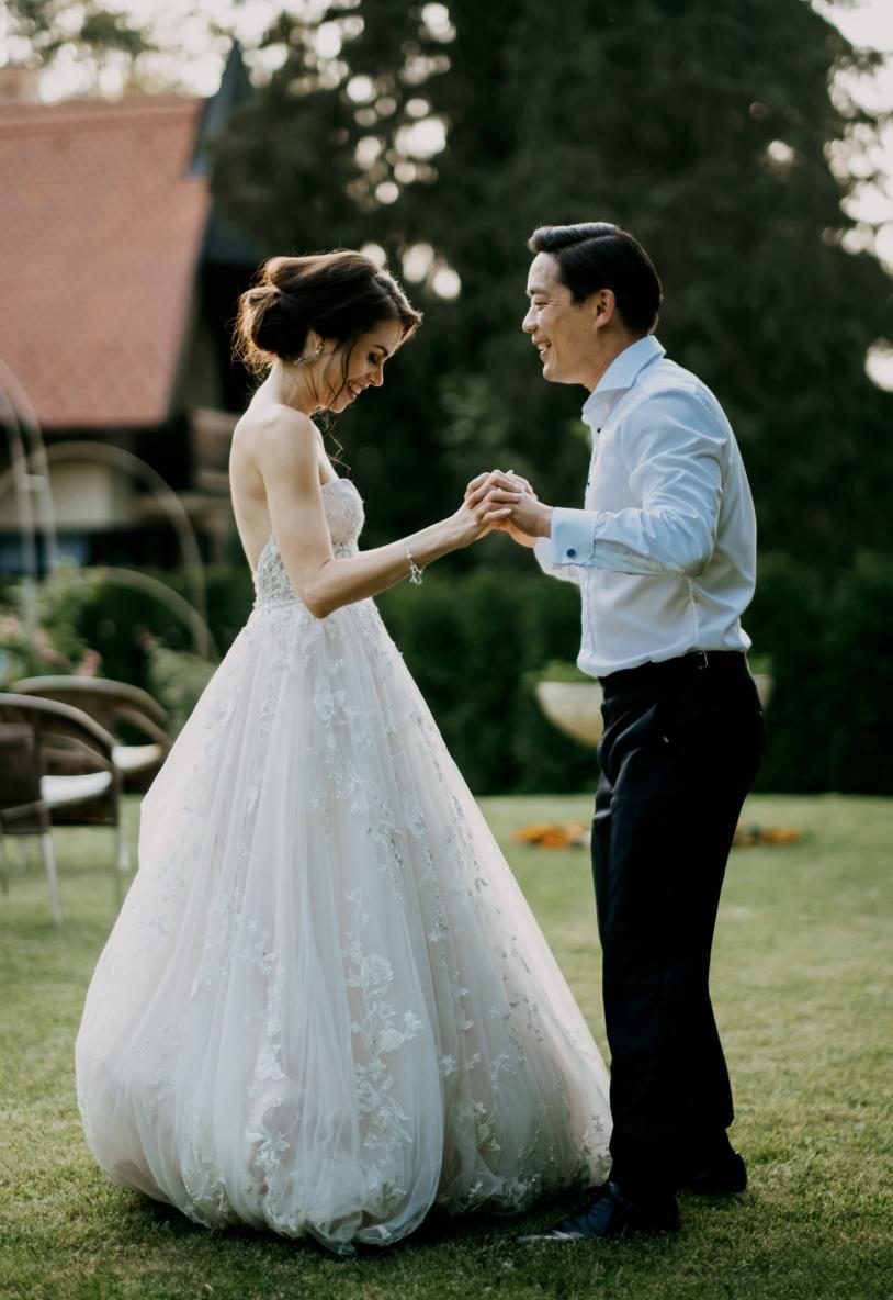 Krásna svadbička krásneho páru Mišky a Wesleyho - Obrázok č. 7