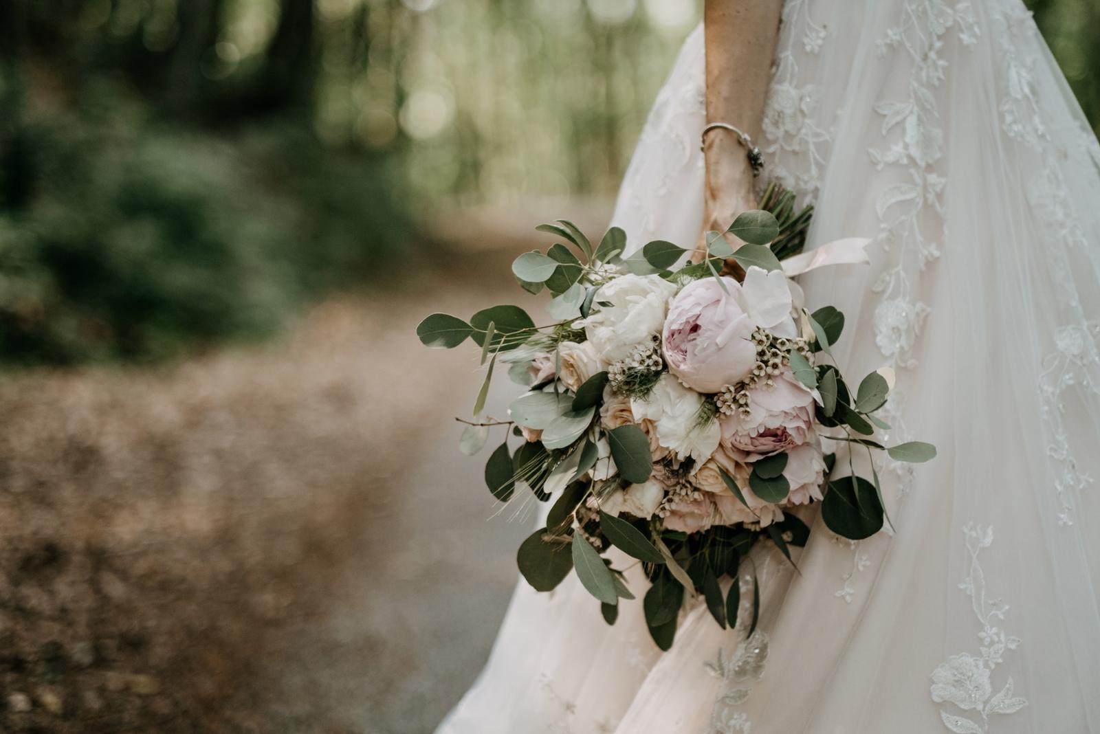 Krásna svadbička krásneho páru Mišky a Wesleyho - Obrázok č. 5