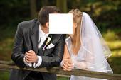 1x oblečený svadobný oblek nohav. + sako + vesta, 54