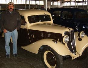 Můj táta a jeho autíčko Baby-nka...