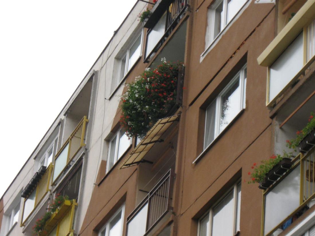 6. poschodie, juhozápadná strana,... - Obrázok č. 1