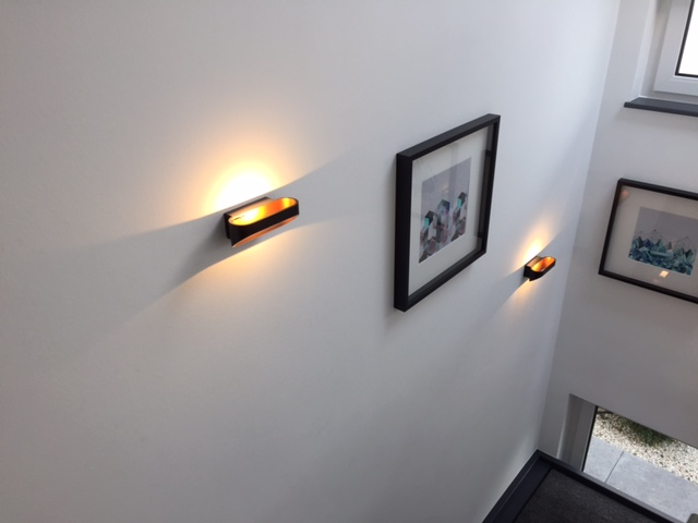 Inspiracie z Nemecka - Tu sa nam pacili svetla na schodisku