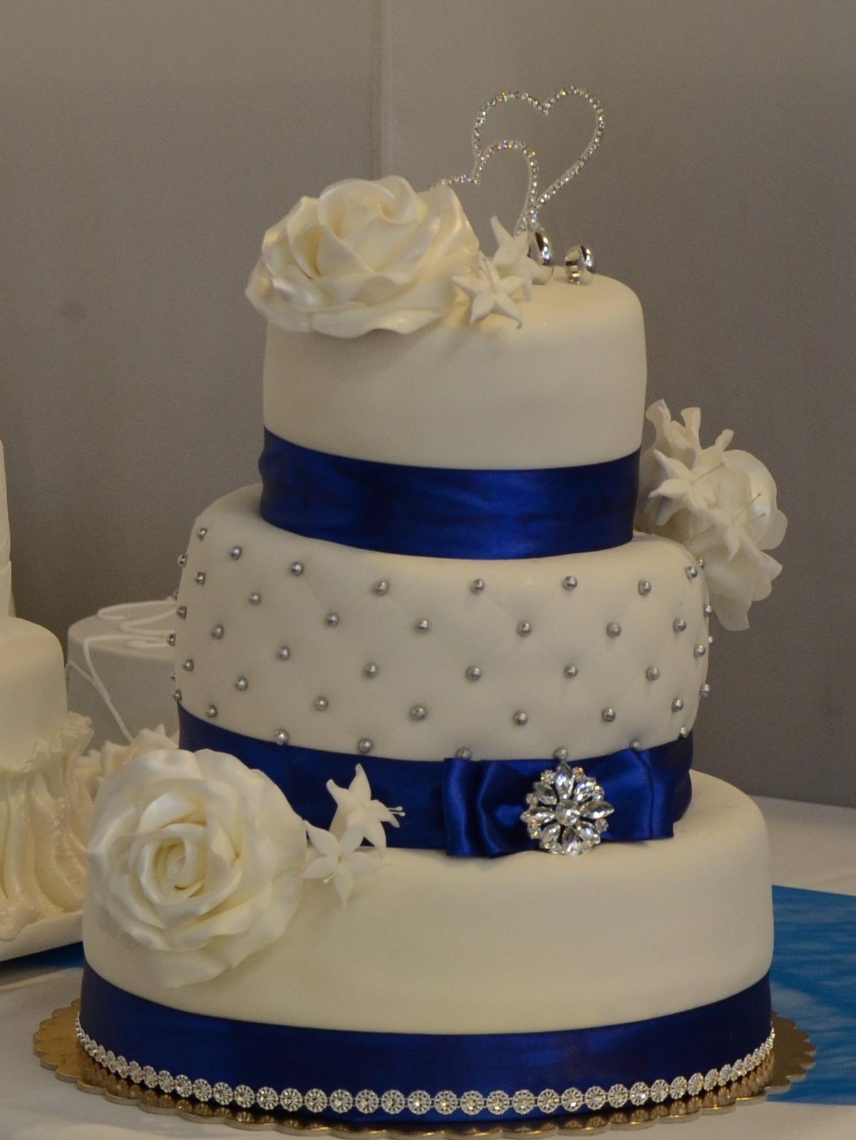 Zapich na tortu - strasove dvojsrdce - Obrázok č. 1