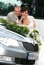 Naše krásne svadobné auto