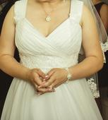 Svadobné šaty na predaj, 42