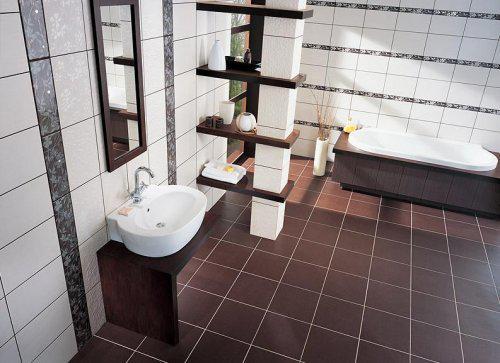 Ako si staviame sen - inšpirácie na kúpelňu - Tubadzin (PL) - seria Inverno