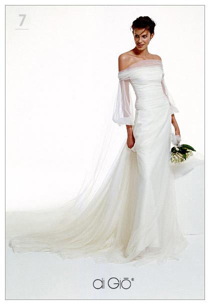 Inspiracie - svadobne saty - Le Spose di Gio - Classic 5 - paradne rukavy. mam podla toho sity top, nosi sa uzasne a odhalene ramena a klucne kosti vyzeraju krasne