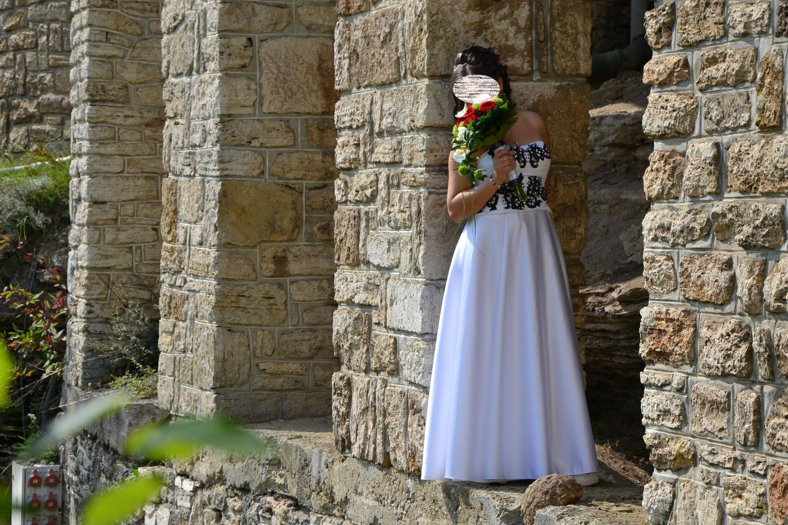 Svadobné šaty 38 - 42 - Obrázok č. 4