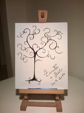 Svatební strom.... Vlastní tvorba