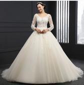 Svadobné šaty šité na mieru, 34