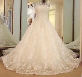Svadobné šaty LUXURY šité na mieru, 38