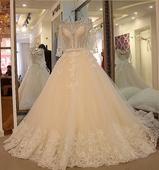 Svadobné šaty LUXURY šité na mieru, 36