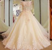Svadobné šaty LUXURY šité na mieru, 40