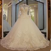Svadobné šaty LUXURY šité na mieru, 34