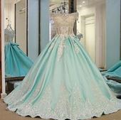 Svadobné / spoločenské šaty na mieru , 36