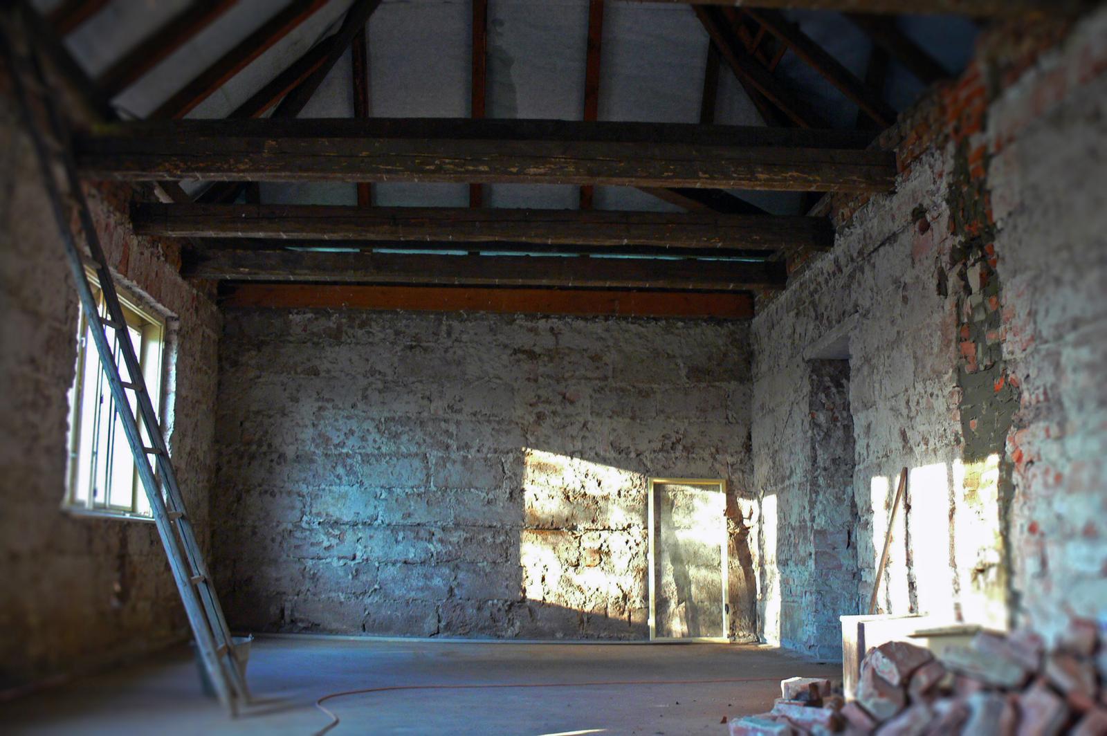 V zelenom dome - oprava trámov môže začať
