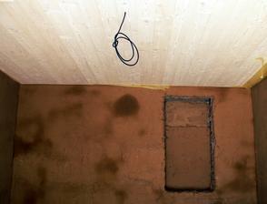 deťátku do izby biely drevenný strop