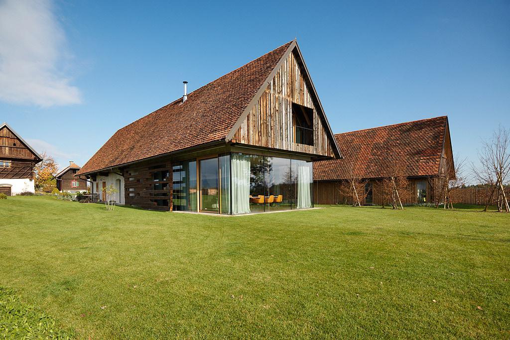 Nové v starom alebo moderné rekonštrukcie - Stodola v Rakúsku