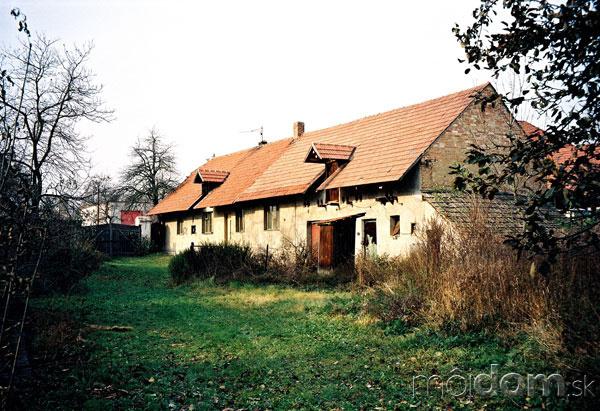 Nové v starom alebo moderné rekonštrukcie - Podarená veľká prestavba v Čechách, pôvodný stav