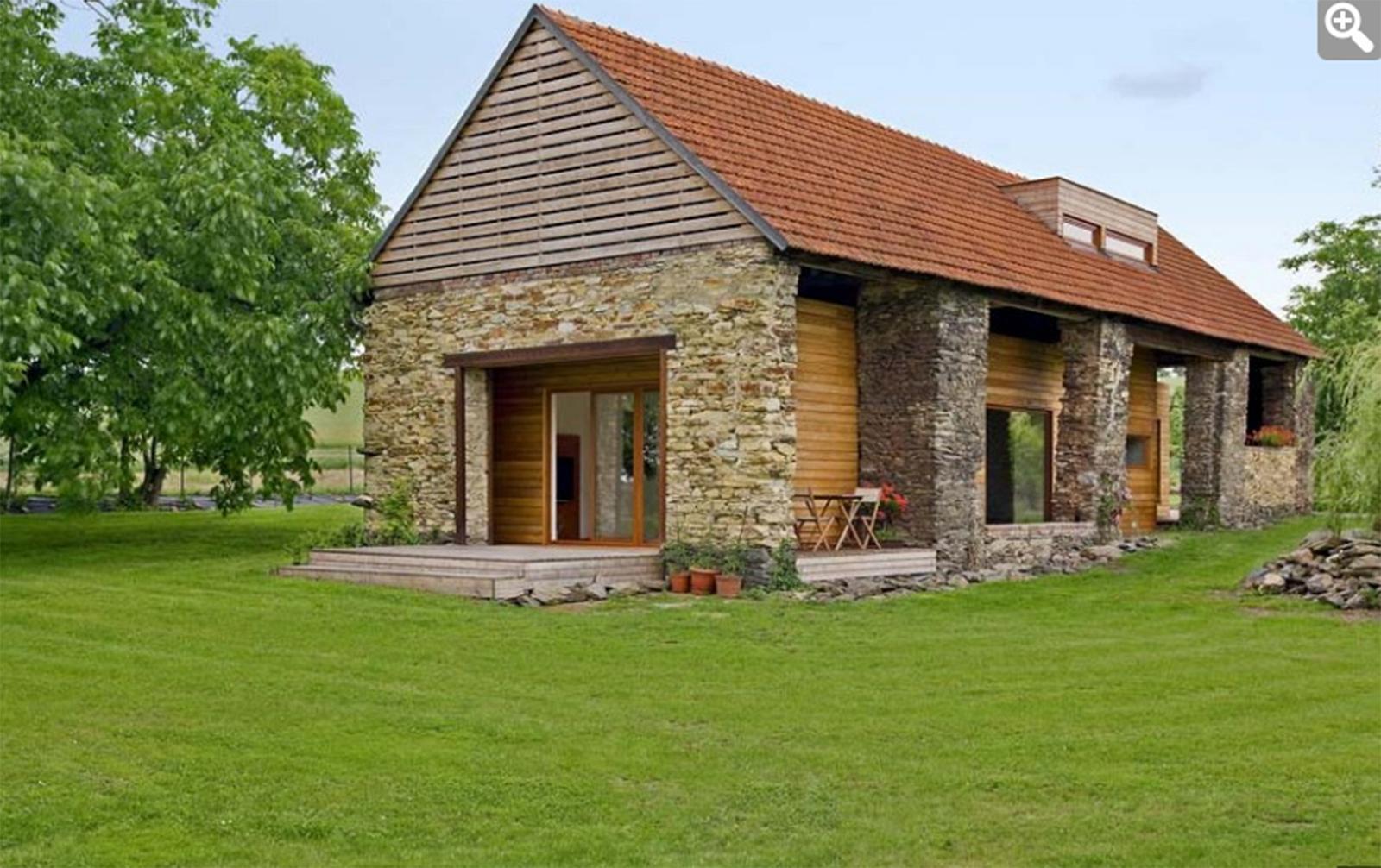 Nové v starom alebo moderné rekonštrukcie - a v nej vstavaný dom