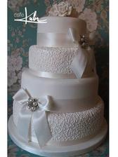 Svatební dortík vybrán ♥