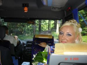 Jízda busíkem na chatu. Super