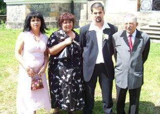 Manželova rodina.