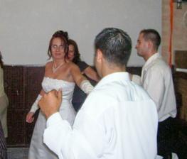 Taneček s manželem.