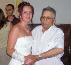 Nejmilejší člověk z manželovi rodiny - děda.