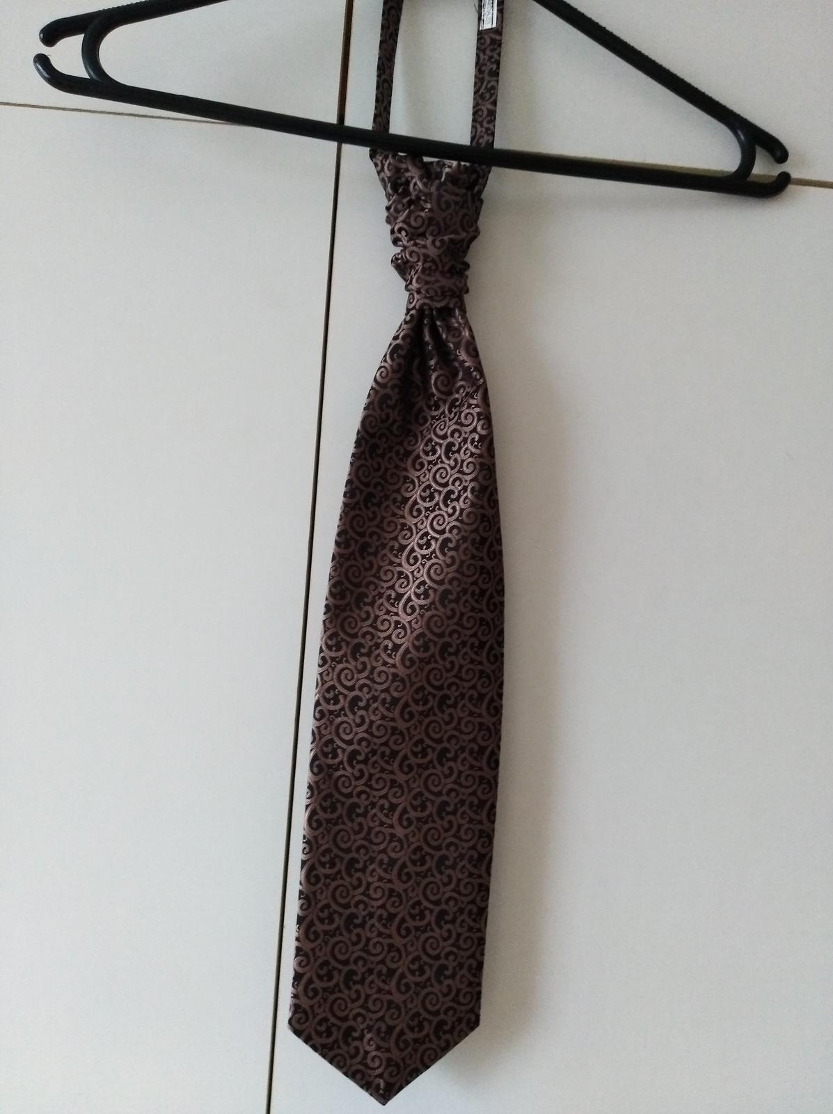 Vesta s kravatou pre ženícha  - Obrázok č. 2
