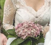 svatební šaty- velikost 40-42, 42