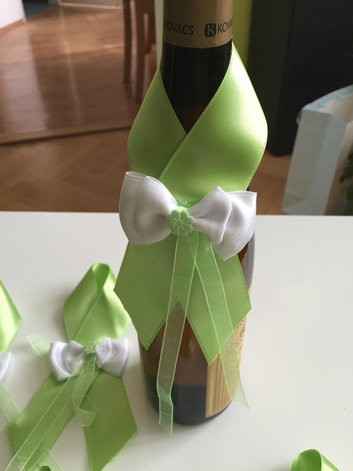 Dekorace na lahve - Obrázek č. 1