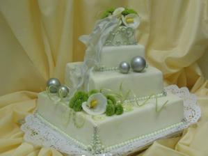Původně jsme chtěli tenhle dort