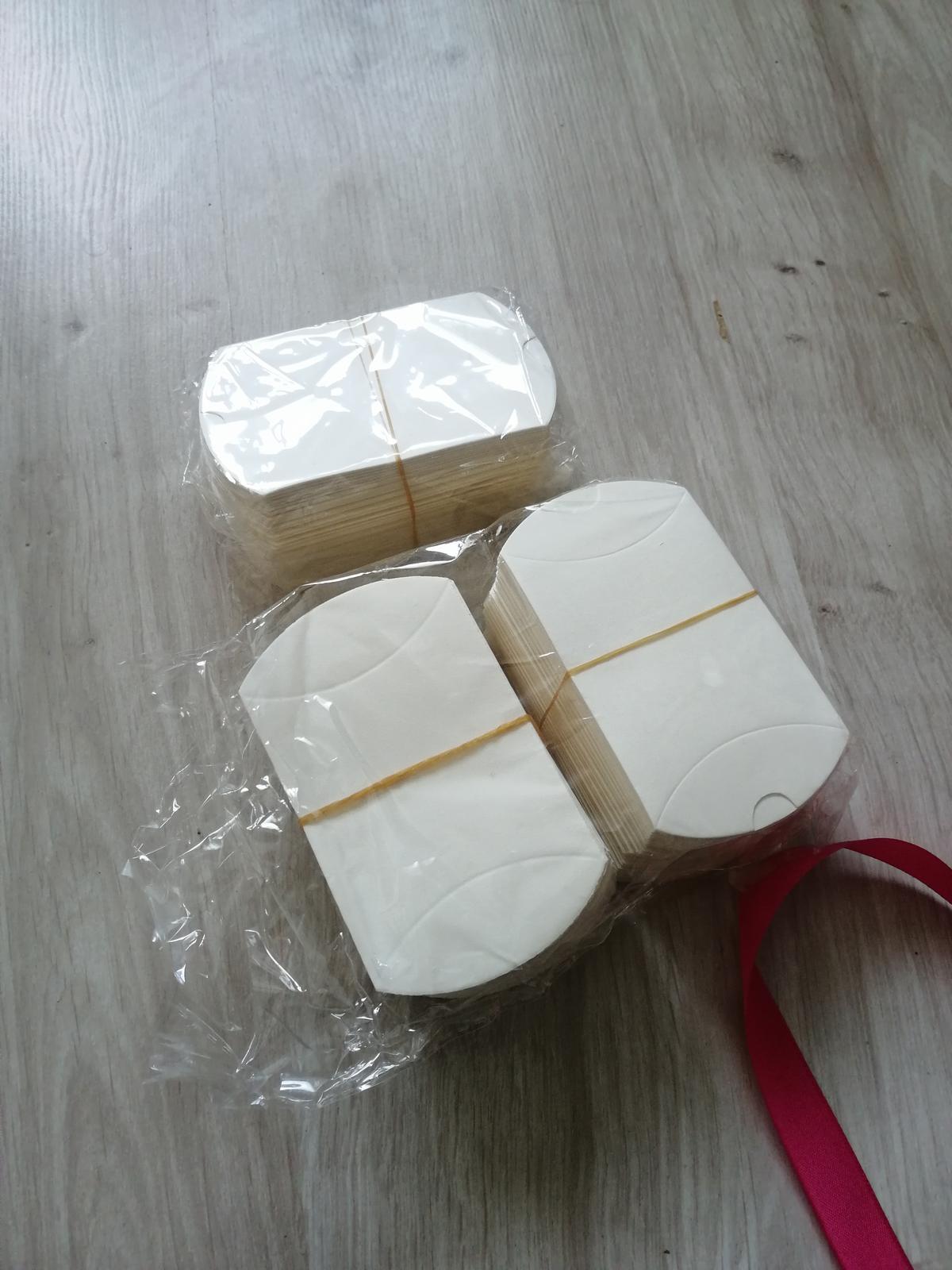 Krabičky pre svadobných hostí - Obrázok č. 2