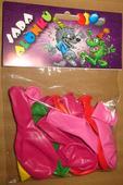 Sada balónků, 13 ks, různé barvy,