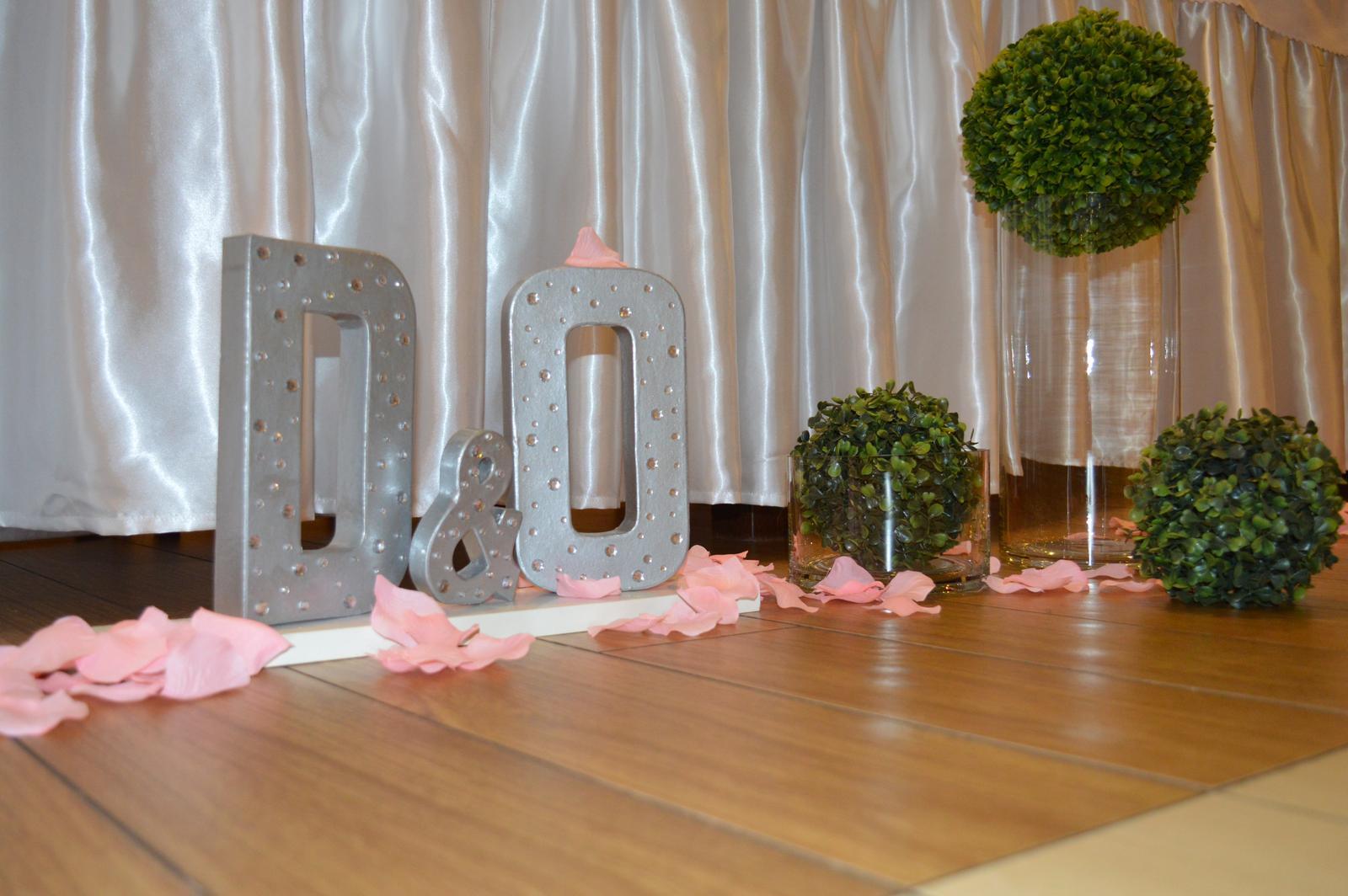 Dominika{{_AND_}}Ondrej - písmená sú na podstavci a ozdobené kamienkami :)
