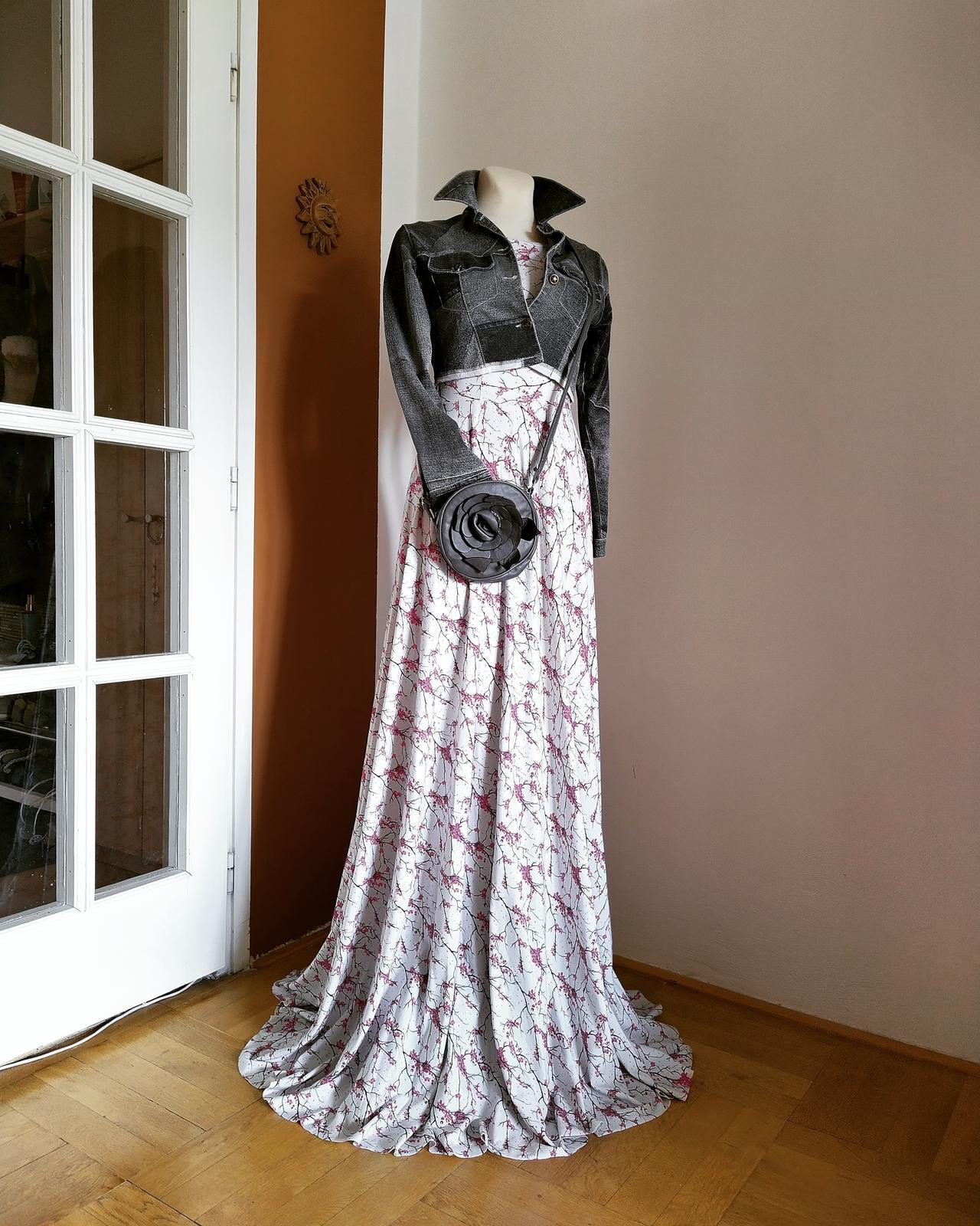 Květované maxi šaty Nové - Obrázek č. 1