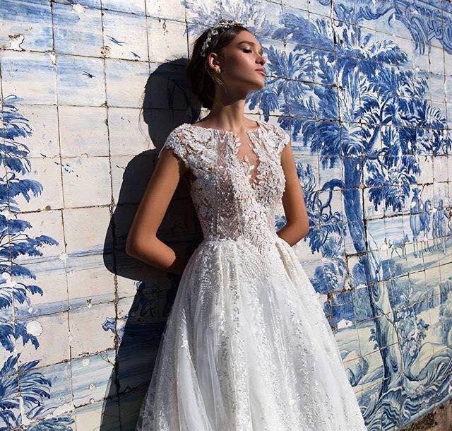 model Juli svadobne saty - Obrázok č. 1