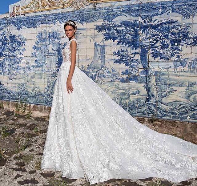 model Juli svadobne saty - Obrázok č. 2