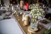 dekorační set na svatební stůl,