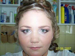 moj svadobny make up(Gabika Lukasikova- Martin)